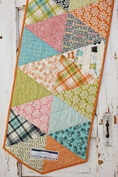 Love love love this Table Runner. Sew Easy and Fun...