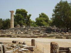 Zeus Temple, Ancient Olympia