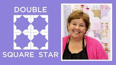 Click this link to get supplies: http://bit.ly/doublesquarestarquilt . Jenny teaches us how to make an easy star pattern quilt with using 5 inch squares of p...