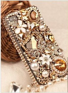 iphone 5S CASE  iphone 5C case Rhinestone by cellphoneaccessory, $25.00