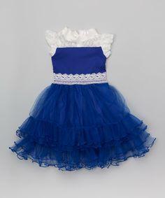 Royal Blue Toddler Dress - RP Dress
