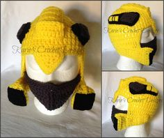 Transformers BumbleBee Photo Prop by KariesCrochetDesigns on Etsy, $24.99