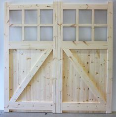 Timber Garage Door, Garage Exterior, Barn Garage, Exterior Doors, Garage Door Makeover, Home Exterior Makeover, Wooden Cladding, Garage Door Styles, Farmhouse Renovation