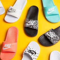 Get Spring/Summer ready with our latest selection of Nike Womens Benassi Slides.