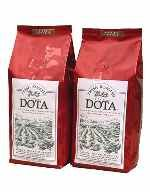 Dota Coffee Costa Rica - Espresso Roast - This outstanding fresh Espresso roasted coffee is planted, harvested, roasted, and packaged by Coopedota, a 40 year old Costa Rican coffee growers cooperative uniting 700 families of the Santa María of Dota Region. Highly regarded as one the best coffees in the world, the Dota select is the main ingredient in some famous premium brands in the United States, Europe and Japan. It also has been rewarded in the international markets.