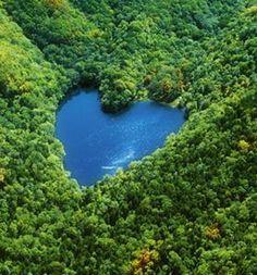 Heart Lake, Hokkaido, Japan