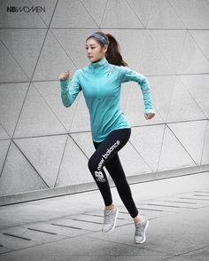 Kim Yuna, Running Pose, Girl Running, Asian Woman, Asian Girl, Pose Reference Photo, Human Poses, Body Poses, Kinds Of Clothes