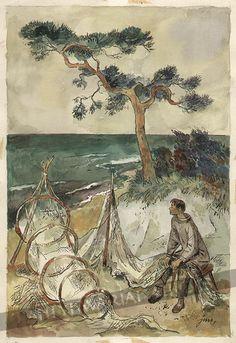Szancer - Rybak Children's Book Illustration, Female Portrait, Childrens Books, Illustrators, Fairy Tales, Draw, Portraits, Polish, Painting