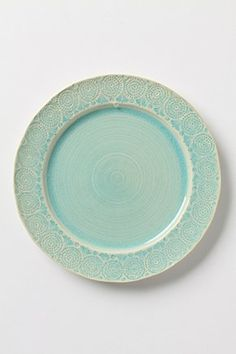I want these in my kitchen : ) Old Havana Dinner Plate | Anthropologie.eu