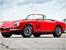 1967 Ferrari 275 GTB/4 NART Spider. 300-horsepower V12, this Ferrari is one of only ten such cars ever made. Sold for $27.5MM.