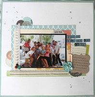 A Project by alizadeutsch from our Scrapbooking Gallery originally submitted 07/25/12 at 08:58 AM ~ layering
