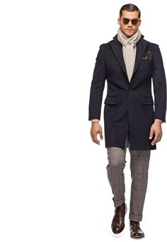 Suitsupply Outerwear: Step up your outerwear game with Suitsupply's sartorial excellence: tapered field jackets, wool peacoats and dapper duffle jackets. Mens Fashion Casual Shoes, Best Mens Fashion, Mens Fashion Suits, Men Casual, Navy Overcoat, Suit Supply, Gentleman Style, True Gentleman, Men Style Tips