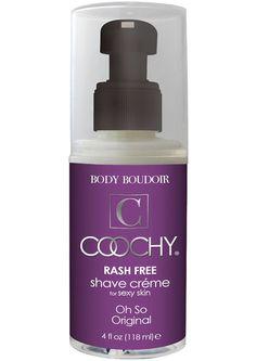 Body Boudoir Coochy Rash Free Shave Creme Original 4 Ounce
