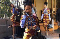Rihanna for president white house style dress