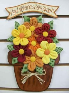 Diy Arts And Crafts Hobbies And Crafts Diy Crafts Wool Applique Applique Patterns Fabric Flowers Diy Flowers Crochet Flowers Craft Sale Felt Crafts, Fabric Crafts, Sewing Crafts, Diy And Crafts, Sewing Projects, Projects To Try, Cloth Flowers, Felt Flowers, Diy Flowers