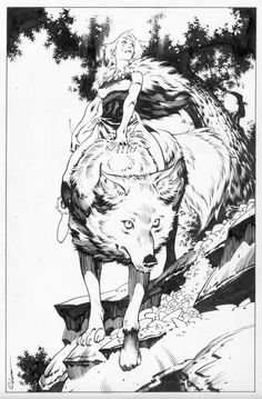 marramew:Mononoke comission.