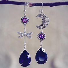 Moon Flight Earrings