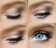 5 minute makeup, quick and easy for work or school using Maybelline Color Tattooo and Urban Decay