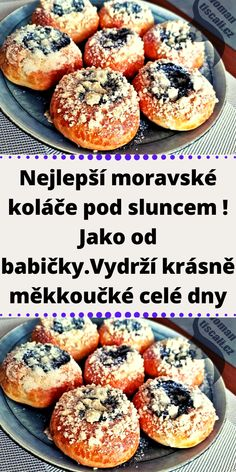 Czech Recipes, Ethnic Recipes, Mini Cheesecakes, Salmon Burgers, Nutella, Bread Recipes, Bakery, Food And Drink, Sweets