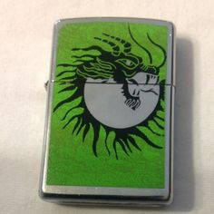 Free: Green dragon Zippo - Other Collectibles Cool Zippos, Zippo Collection, Green Dragon, Light My Fire, Zippo Lighter, Smokers, Eccentric, Cigar, Identity