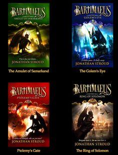 Bartimaeus Series by Jonathan Stroud  I love love love Barti!