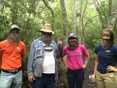 This summer Olivia Jenkins interned at the Baruch Institute for Coastal Ecology an Forest Science in Georgetown, SC.