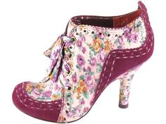 Irregular Choice: Abigails Party  Want! Want! Want!