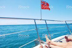 New Zealand Red Ensign Flag on Yacht royalty-free stock photo Kiwiana, Cruise Vacation, Image Now, New Zealand, Royalty Free Stock Photos, Relax, Holiday, Summer, Photography
