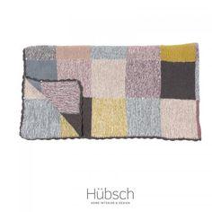 Lækker strikket plaid fra Hubsch.. - Stuen - BOLIG