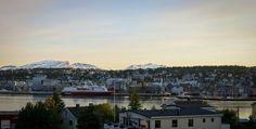 Views from Arctic Cathedral Tromsø, Norway / Vistas desde la Catedral Ártica en Tromso, Noruega