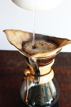 chemex coffee:: Elise blaha's description of using their chemex