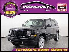 Ebay 2017 Jeep Patriot Laude Fwd Off Lease Only Regular Unleaded I 4 2 0 L 122 Jeeplife