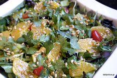 Πράσινη Σαλάτα με Πορτοκάλι, Μουστάρδα και Μέλι | Dailycious.gr