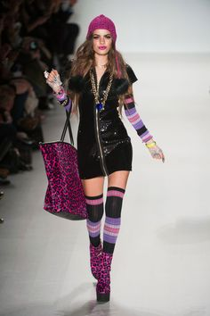 55 photos of Betsey Johnson at New York Fashion Week Fall 2014.