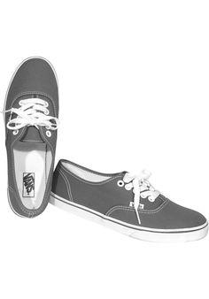 Vans Authentic-Lo-Pro-Classic, Shoe-Women, grey-white #ShoeWomen #FemaleClothing #titus #titusskateshop