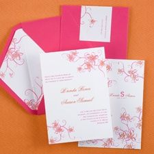 Tropics - Invitation #destinationwedding #confetticonnection