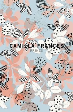 camilla frances floral print
