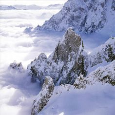 Above the clouds... (Courmayeur, Italy)