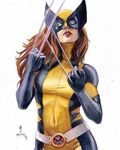 Lady Wolverine Did You Know: As X-23 Laura kills Sarah Kinney A scientist that has been working on cloning Wolverine and for all practical purposes is considered X-23s mother . As she lies dying Sarah tells X-23 that her name is Laura and that she loves her and hands her the letter and pictures of Charles Xavier Wolverine and the Xavier Institute. by Garrie Gastonny #marvelcomics #Comics #marvel #comicbooks #avengers #captainamericacivilwar #xmen #xmenapocalypse #captainamerica #ironman…