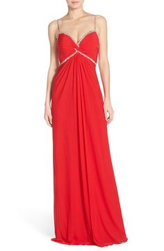 Abbi Vonn Embellished Jersey Gown available at #Nordstrom