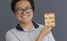 Yuji Sato é artesão e empreendedor e ensina uma carteira em tecido nesse passo a passo fácil e rápido!