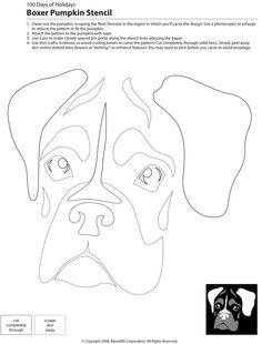 Downloadable Dog Breed Pumpkin Stencils | POPSUGAR Pets