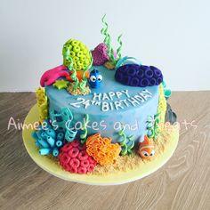 Finding Dory inspired cake