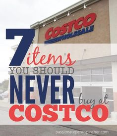 7 Items You Should Never Buy at Costco