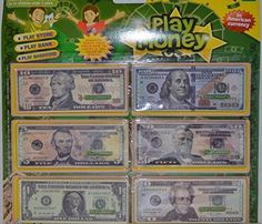 3 Bag(540Pcs) High Quality Play Money In American Currency Cash Bill 1/5/10/20/50/100 Dollar * See this great product.