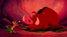 Lion King Hula Scene