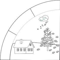 Marci fejlesztő és kreatív oldala: 1. osztály Seasons Months, Four Seasons, Colouring Pages, Coloring Pages For Kids, Alphabet Worksheets, Early Childhood Education, Diy For Kids, Geography, Print Patterns