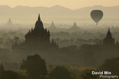 Bagan, Myanmar - Balloons Over Bagan