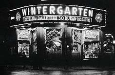 The Wintergarten, Weimar Berlin's famous cabaret at the Central Hotel