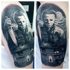 Community Post: 37 Incredible Horror Movie Tattoos That'll Give You Nightmares